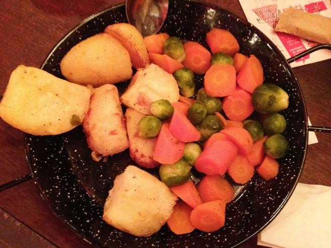Christmas veggies, Artisan