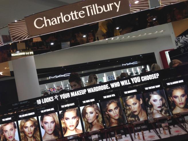 Charlotte Tilbury looks