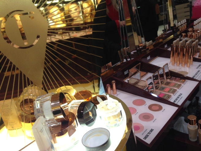 Charlotte Tilbury skincare and makeup