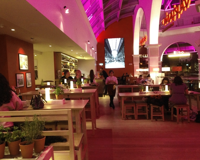 Vapiano Manchester corn exchange