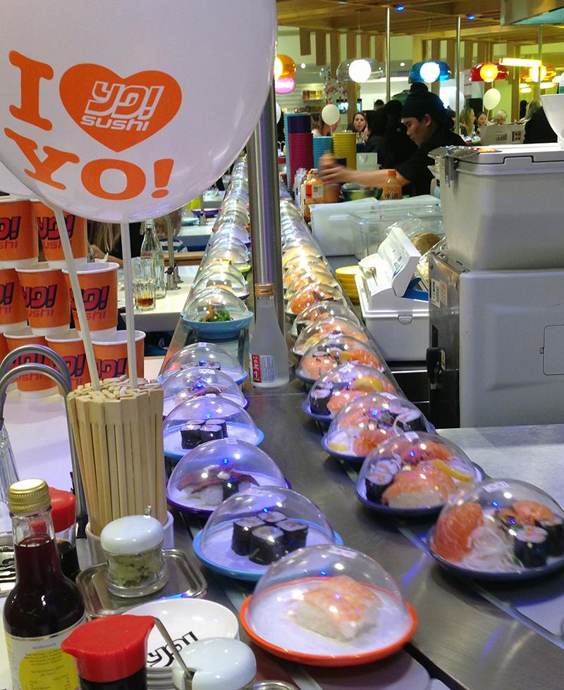Yo! Sushi Selfridges Trafford