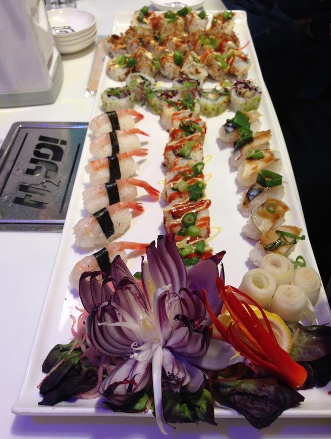Yo! Sushi Tokyo street food