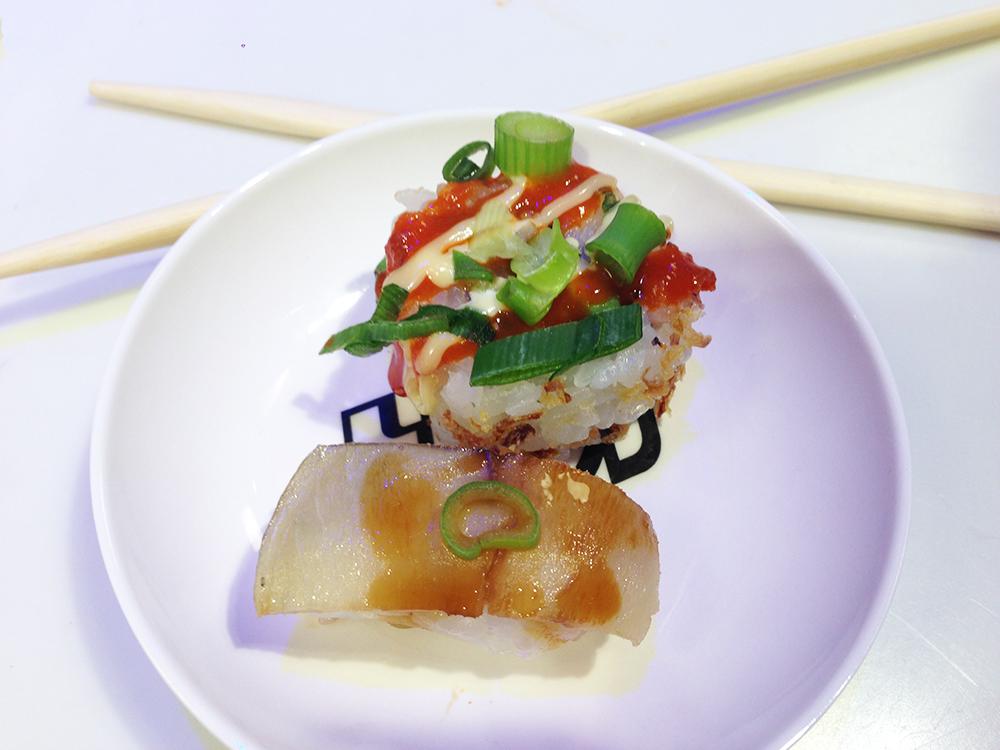 Dynamite roll Yo Sushi