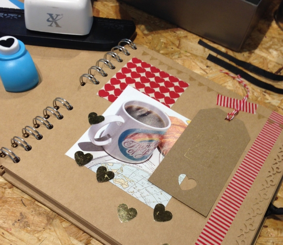 Paperchase Manchester scrapbooking workshop