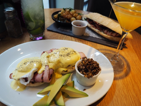 Brunch at All Bar One Manchester