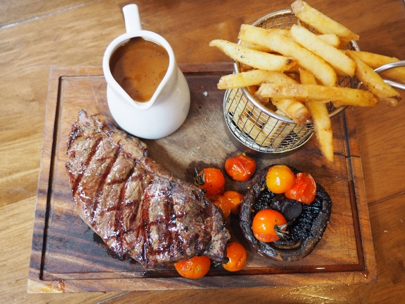 New York strip steak, Manchester NQ