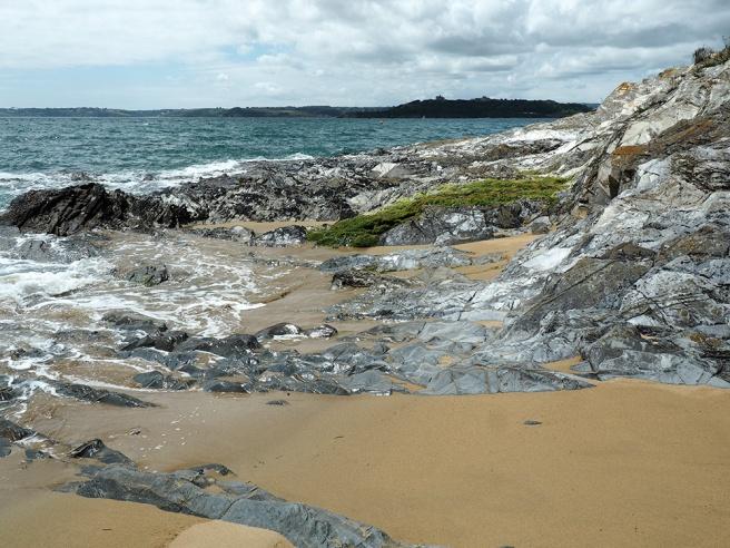 Cute beach in Cornwall
