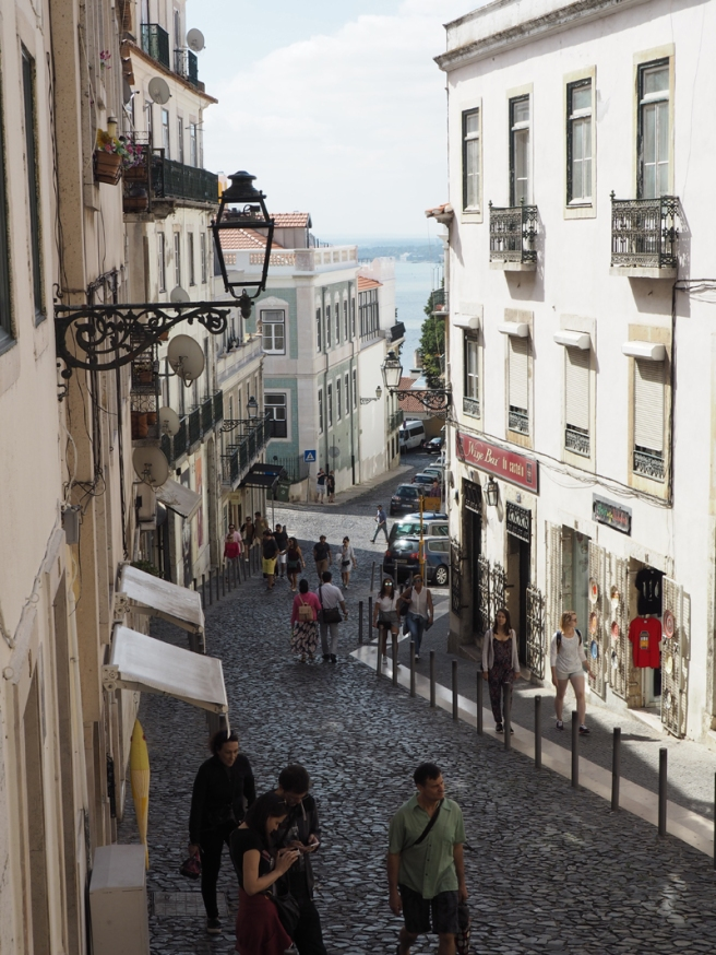 Lisbon Alfama district