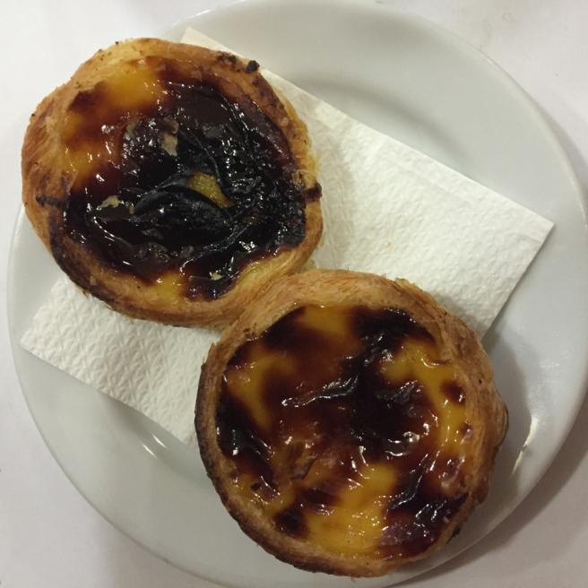 Lisbon pasteis de nata