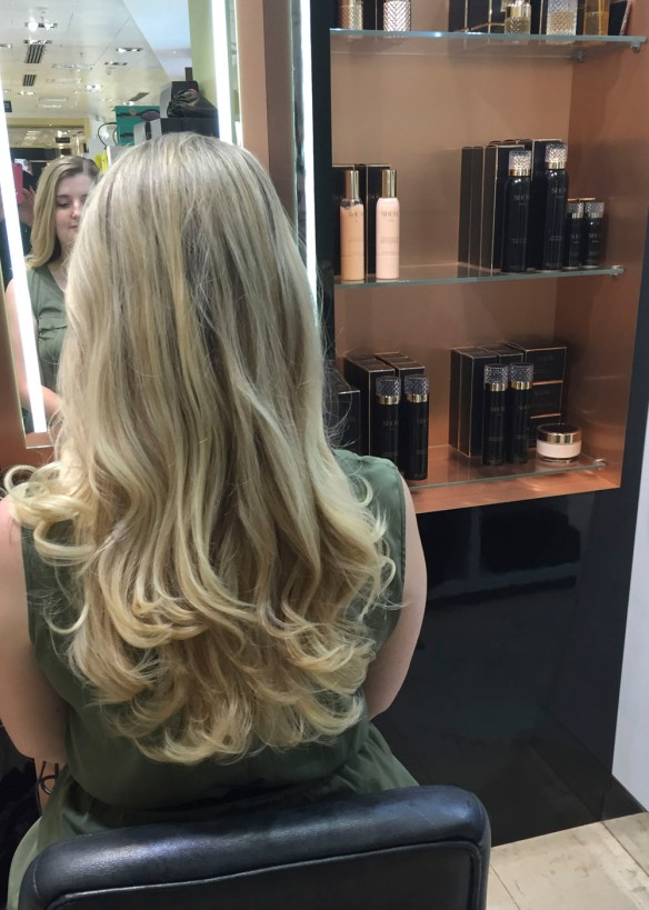 Show Beauty blow dry bar Harvey Nichols
