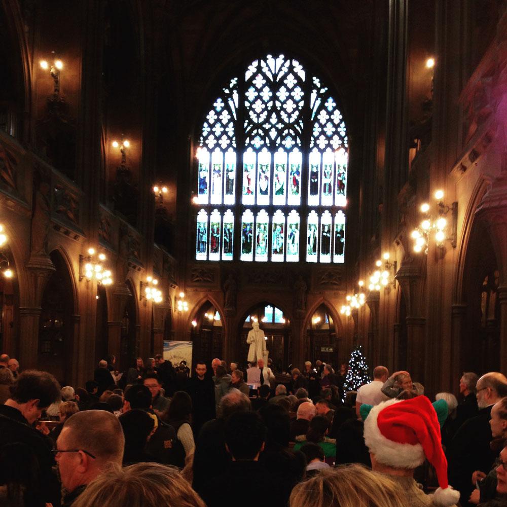 John Rylands Manchester carol concert
