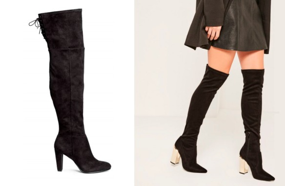 AW16 over the knee boots