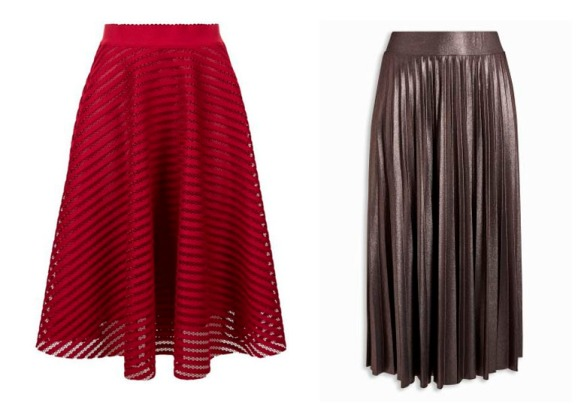 AW16 midi skirt