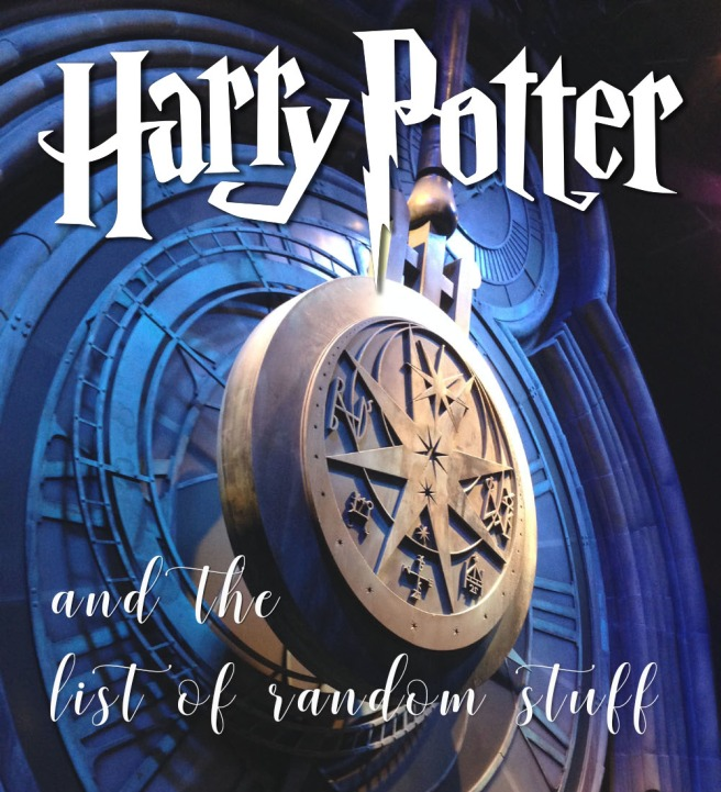 Harry Potter List