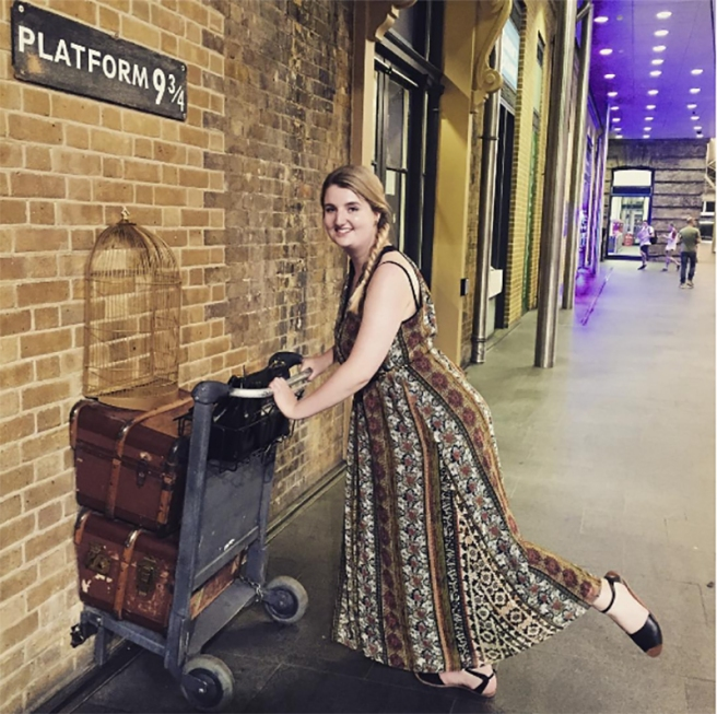 Platform 9 3/4Kings Cross Platform 9 3/4