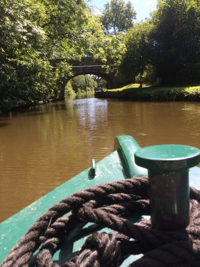 Canal boat day hire
