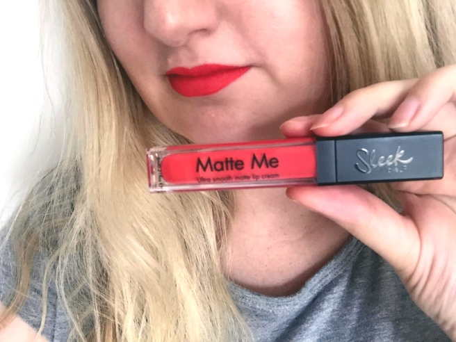 Lasting lipstick - Sleek Matte Me Party Pink