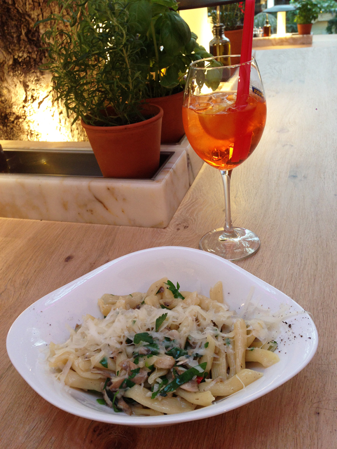 Vapiano lunch Manchester