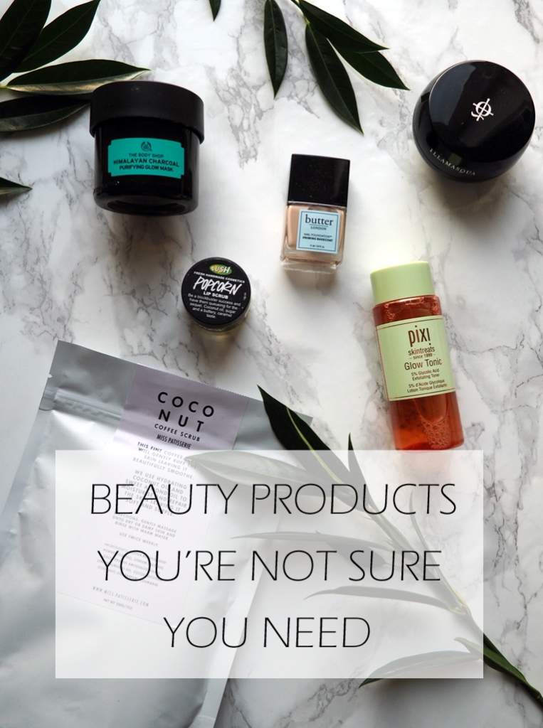 Beauty products you're not sure you need