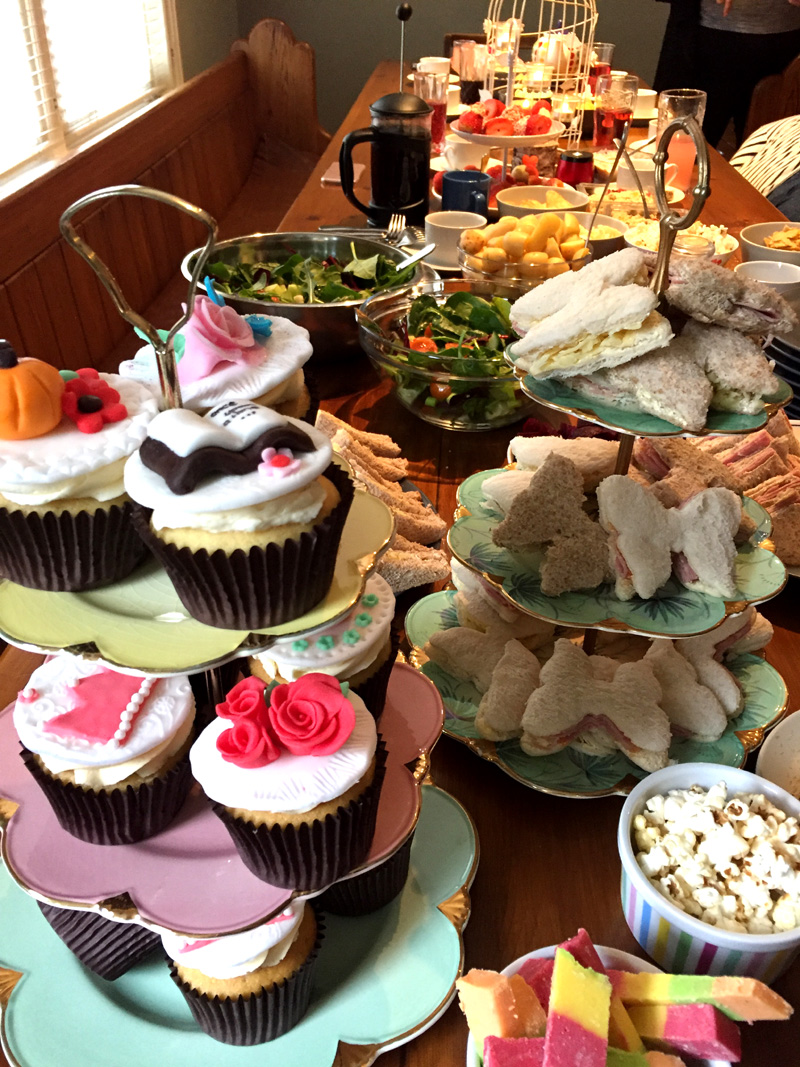 Fairytale themed afternoon tea