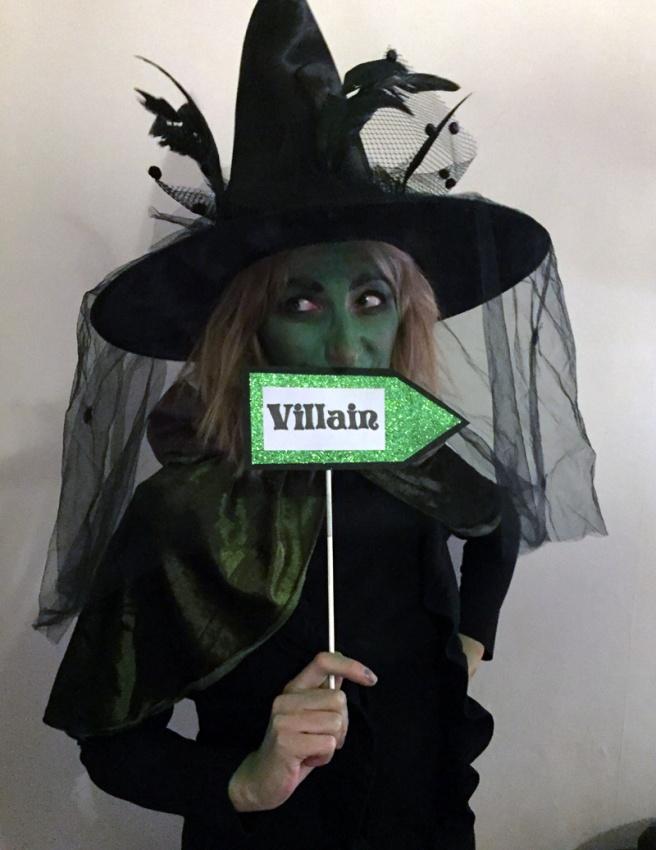 Photo booth villain