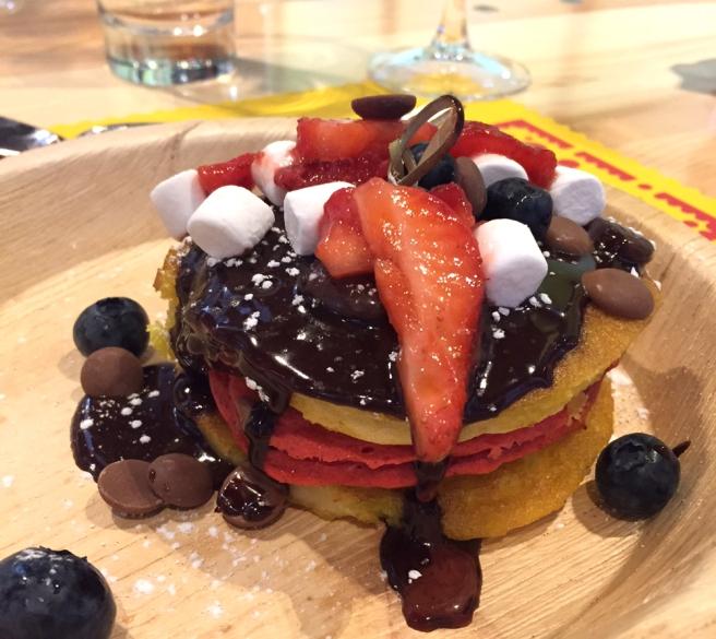 Kahlua pancakes
