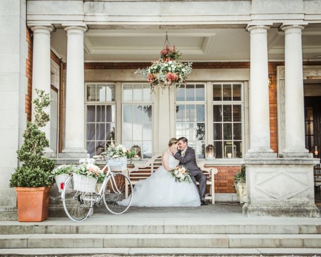 Wedding portrait shoot