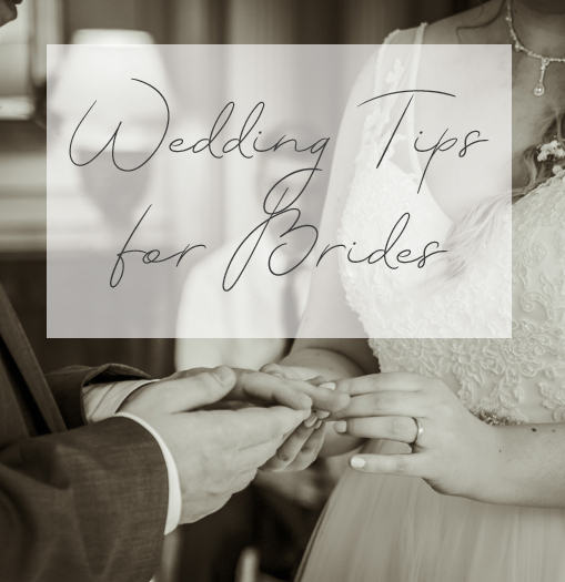 Wedding Tips for Brides