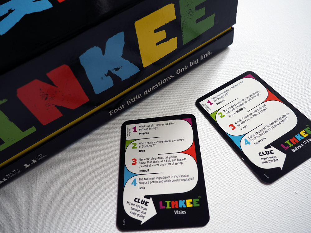 Quiz game LINKEE