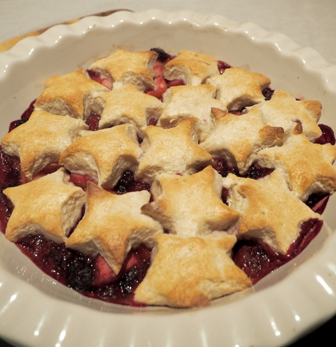 Christmas star cobbler