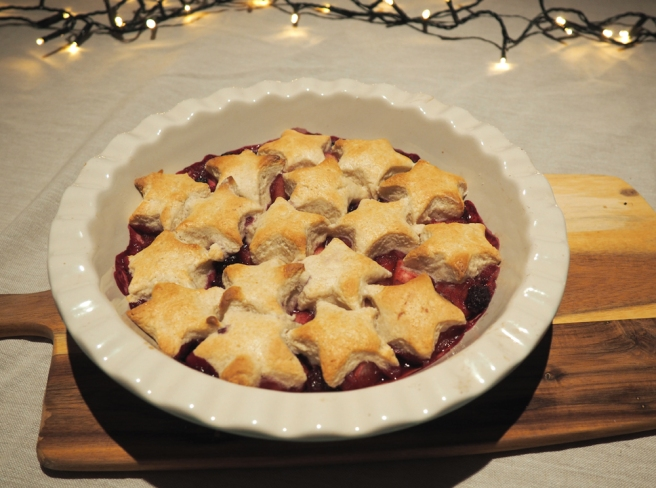 Christmas cobbler recipe