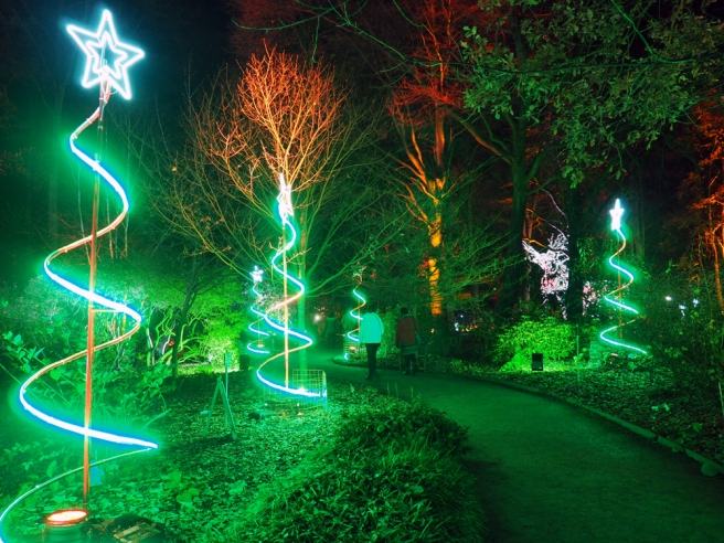 Christmas Trail at Dunham Massey