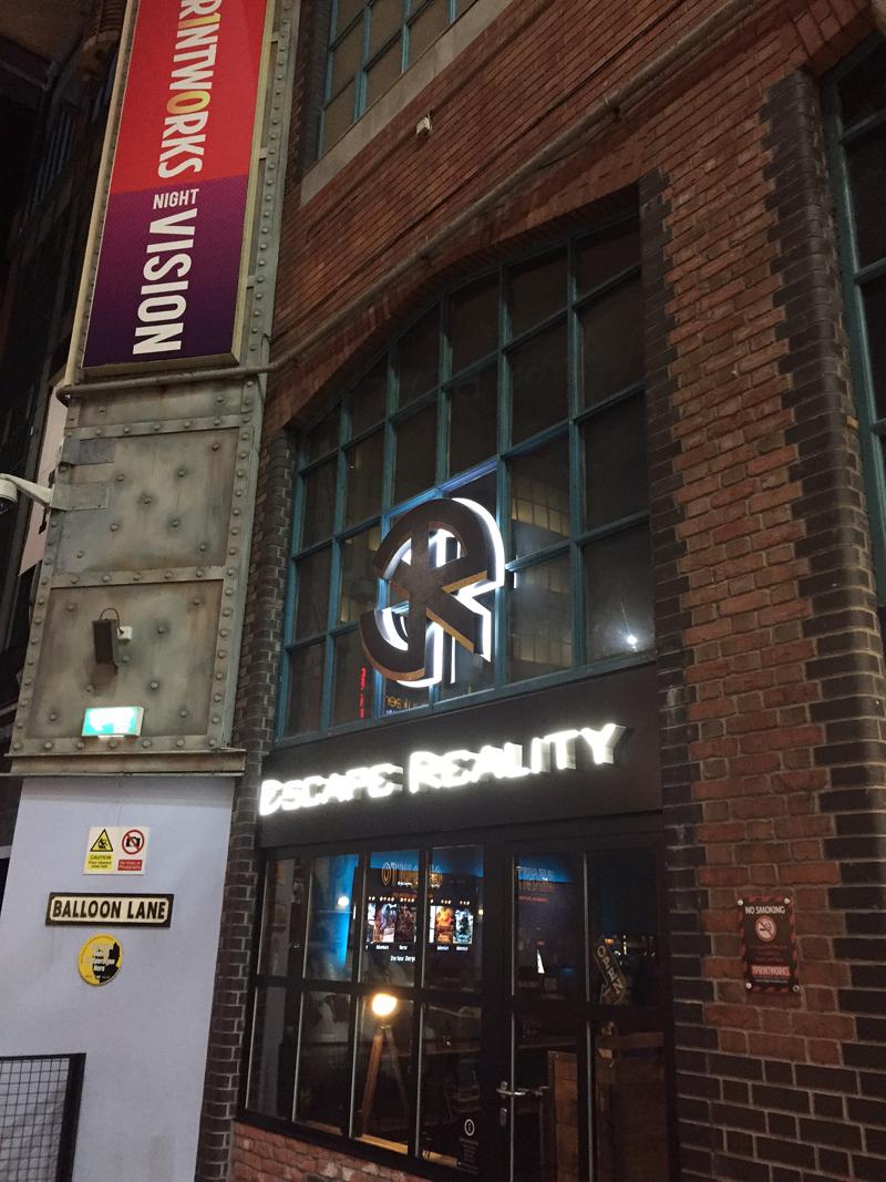 Escape Reality VR Manchester