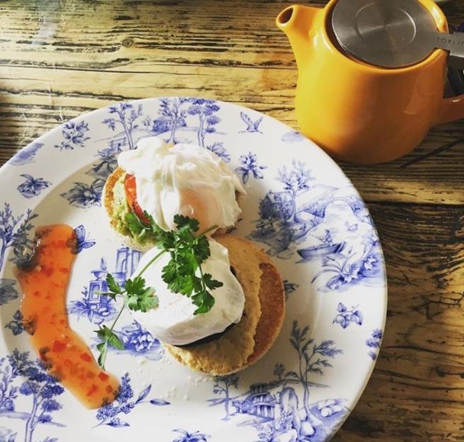 Lulworth Cove Inn breakfast