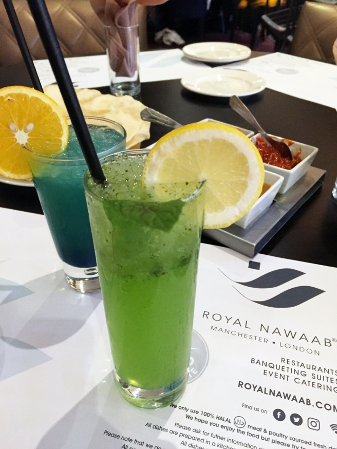 Royal Nawaab mocktails