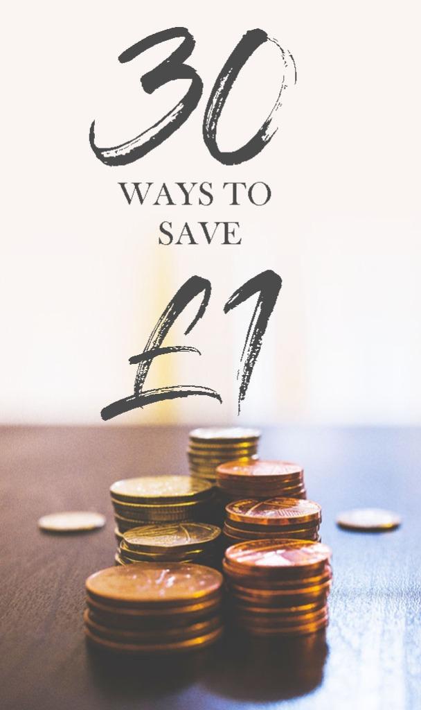 30 ways to save