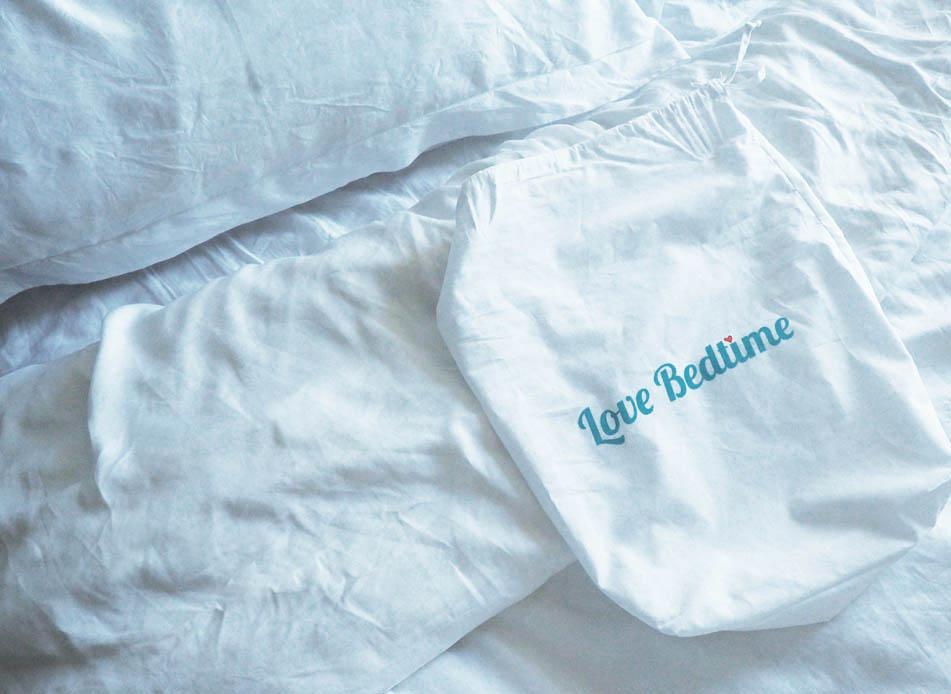 Love Bedtime tencel bedding