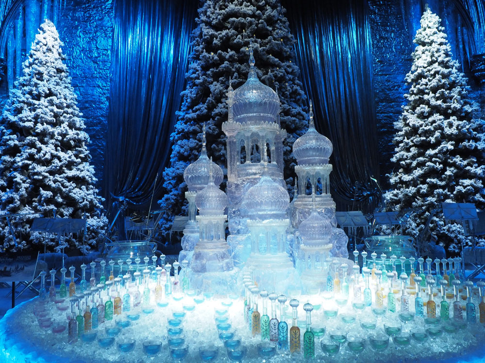 Harry Potter Yule Ball Ice Sculpture