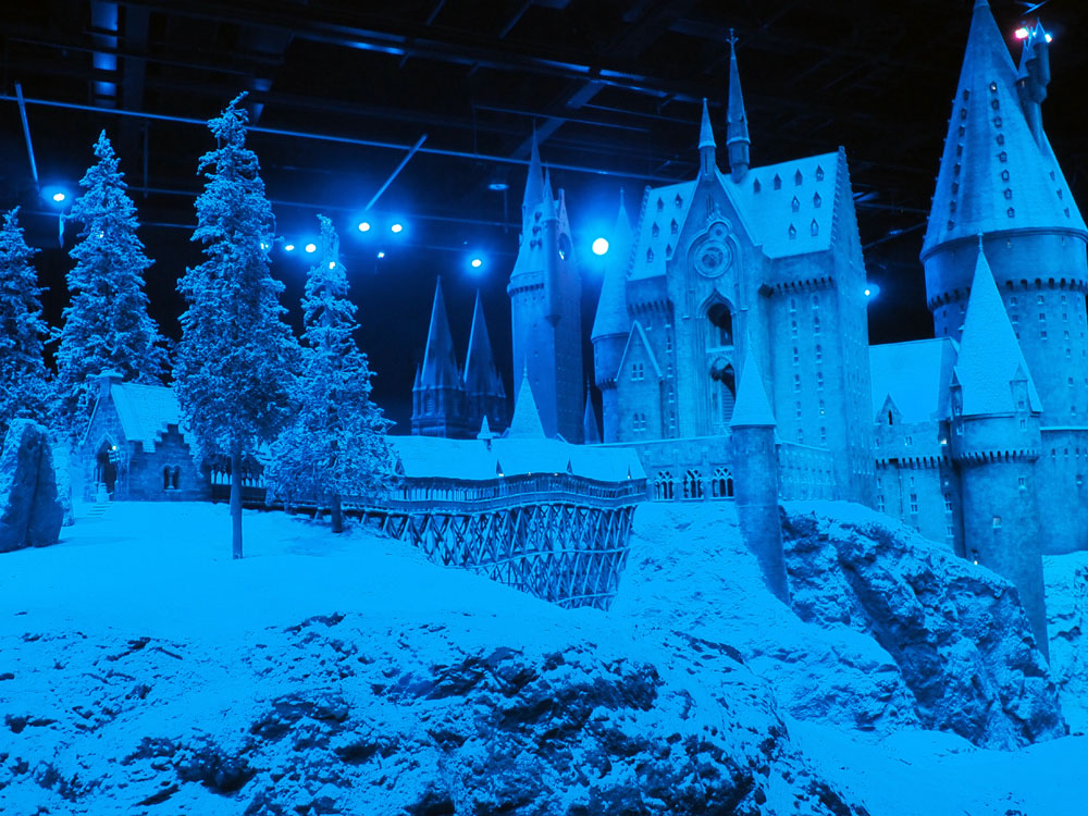 Hogwarts in the Snow 2