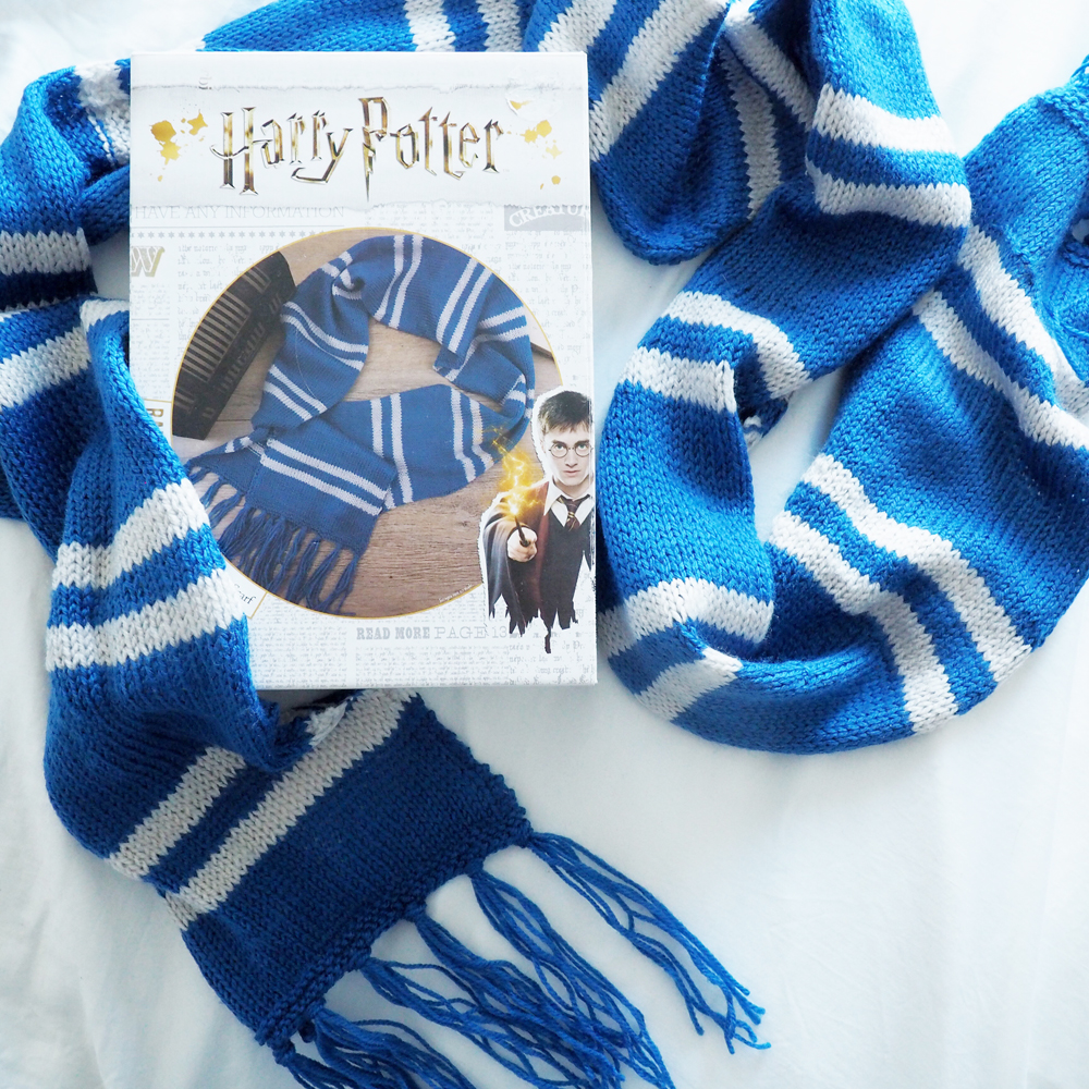 Ravenclaw scarf knitting kit