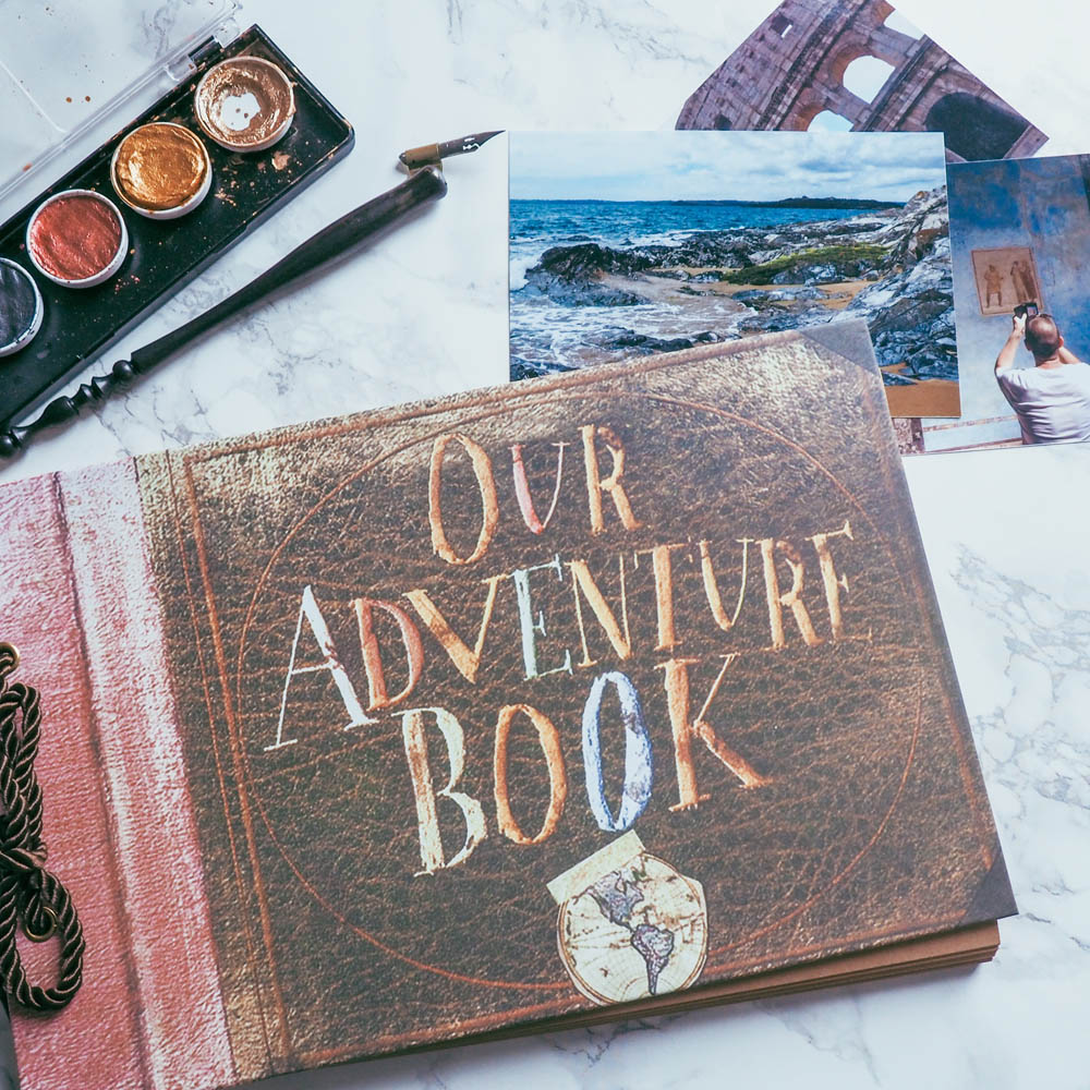 Our Adventure Book Scrapbook