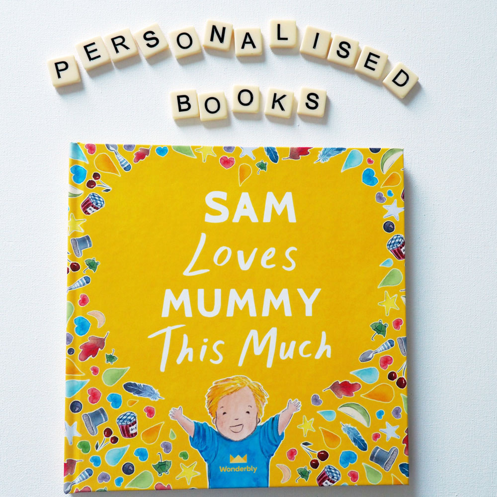 Wonderbly Mummy Book
