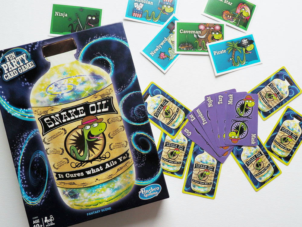 Snake Oil Card Game