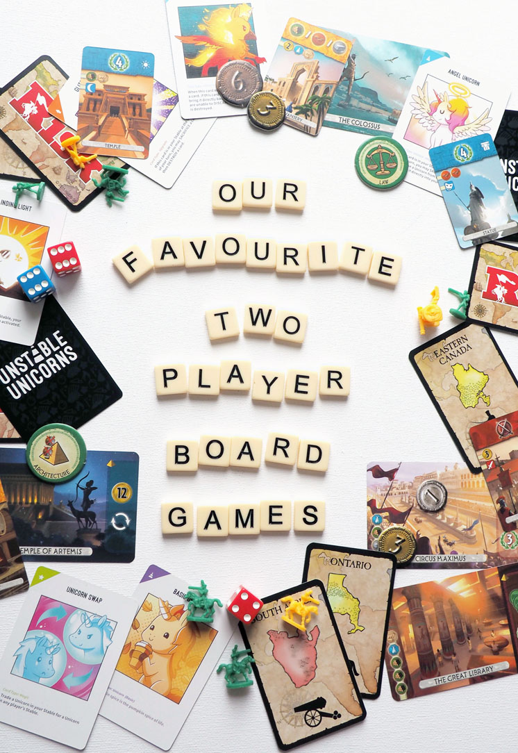 The best 2 player board games
