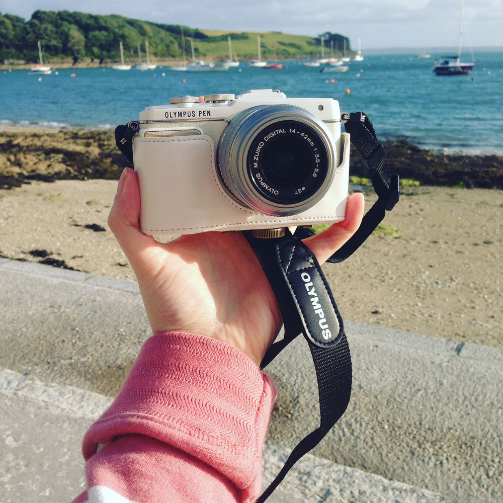 Olympus Pen by the sea