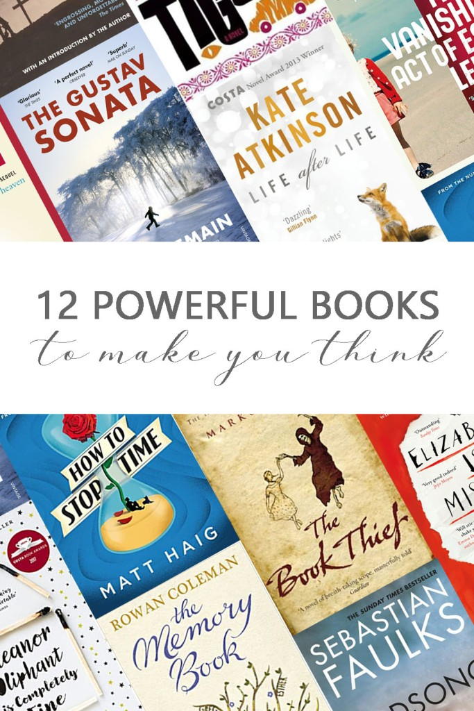 12 powerful books to make you think