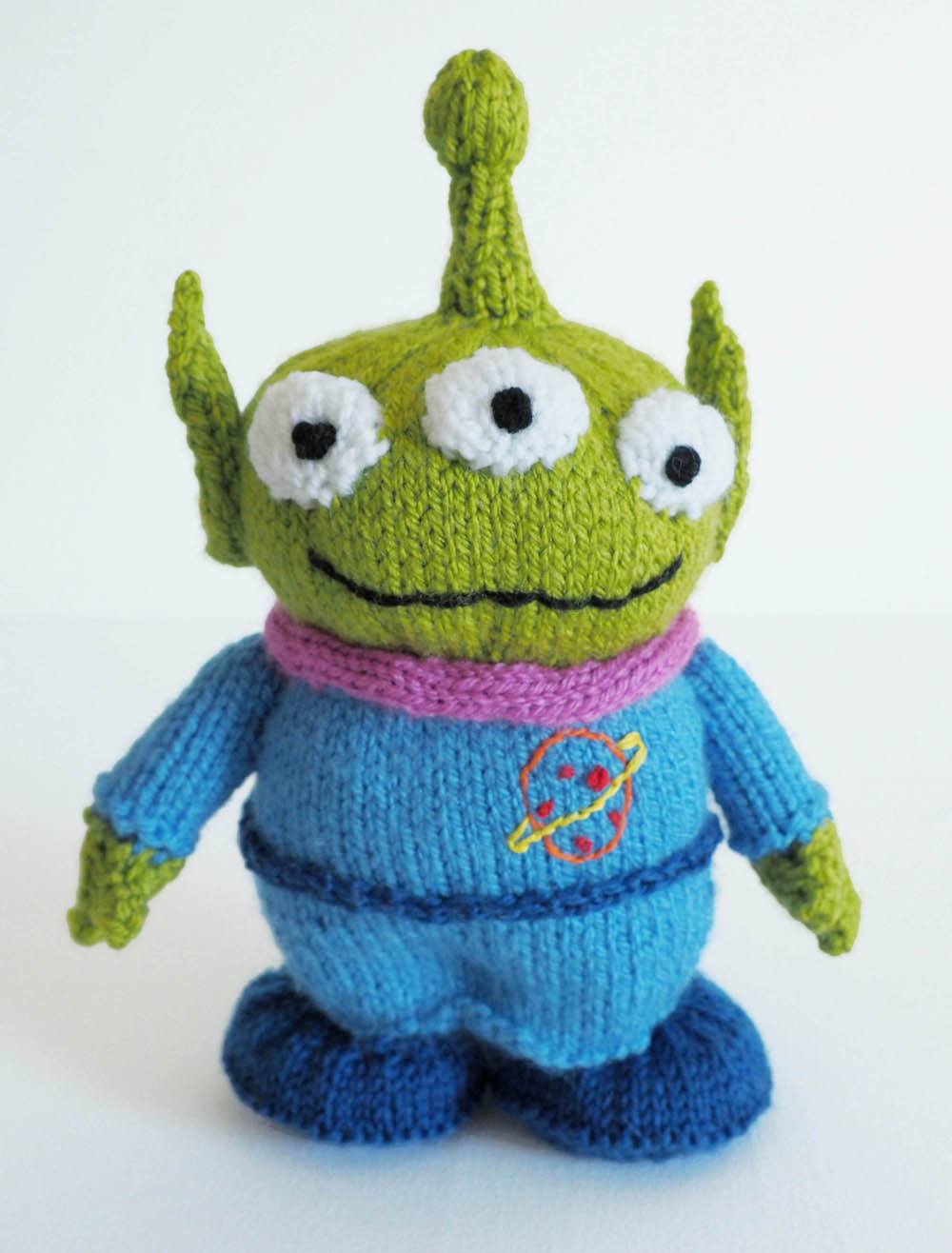 Toy Story Alien Knitting Pattern