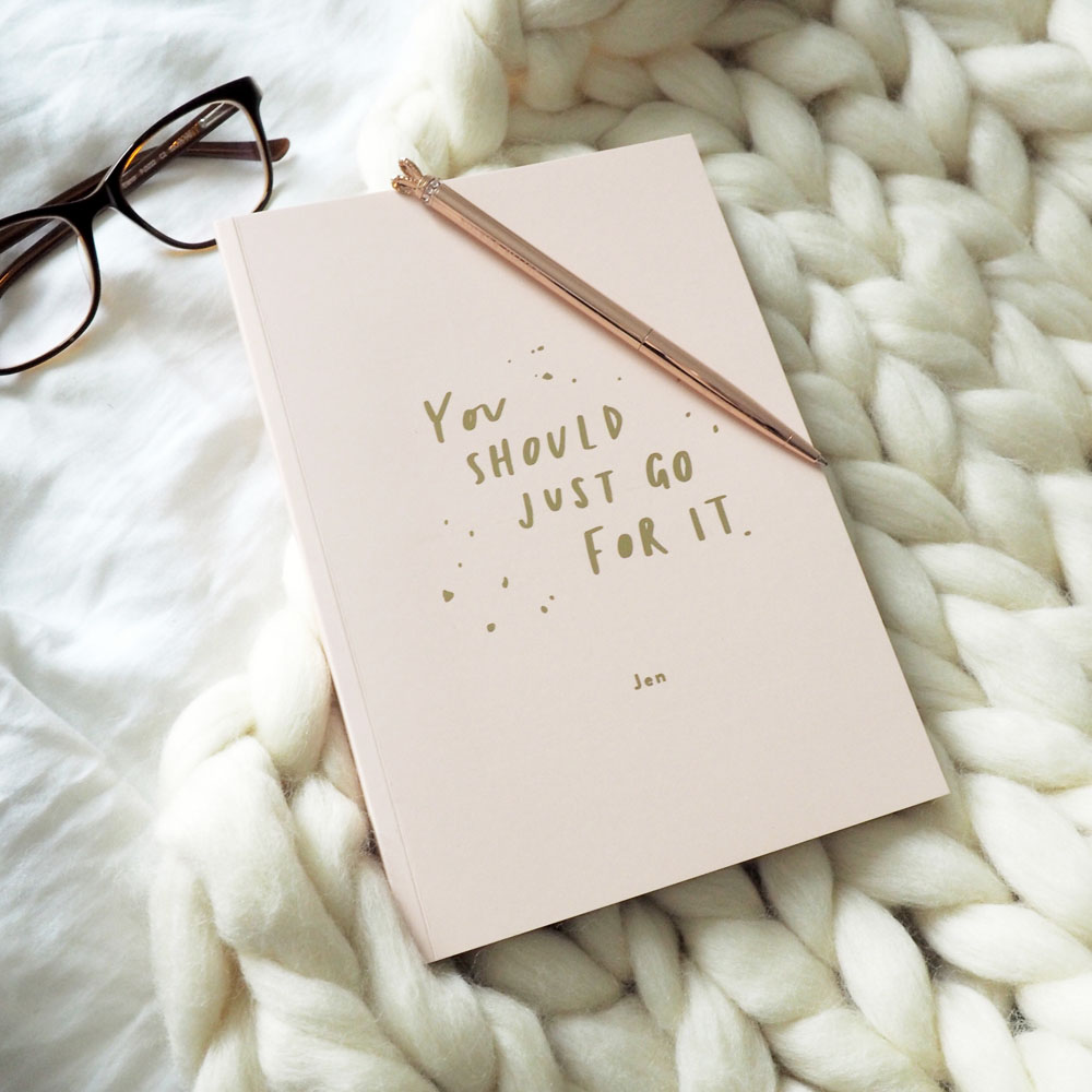 Positive Thoughts Notebooks