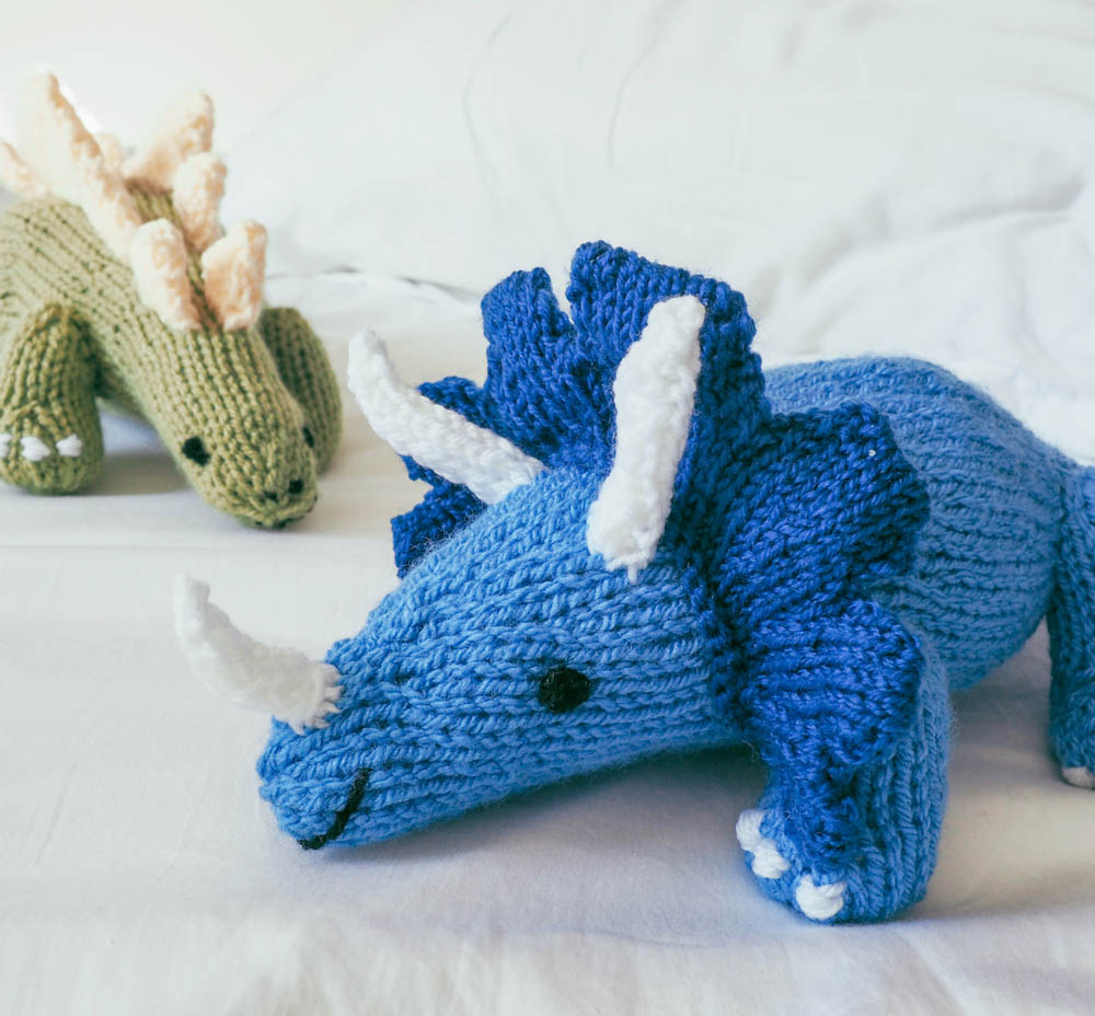 Free Dinosaur Knitting Pattern