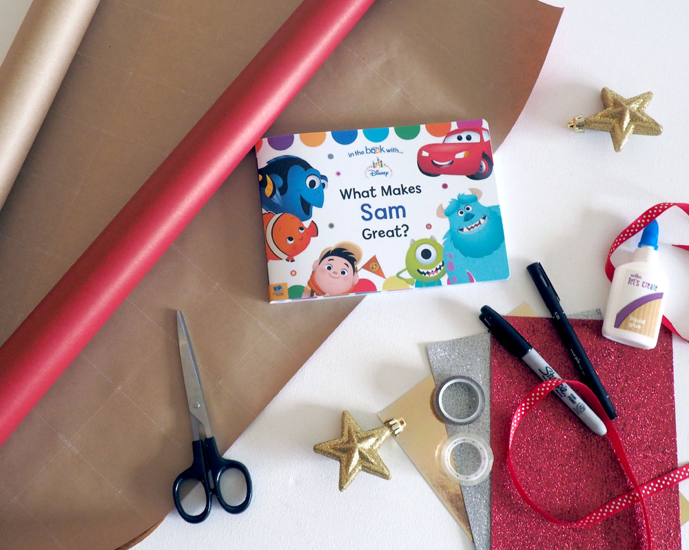 How to gift wrap a book